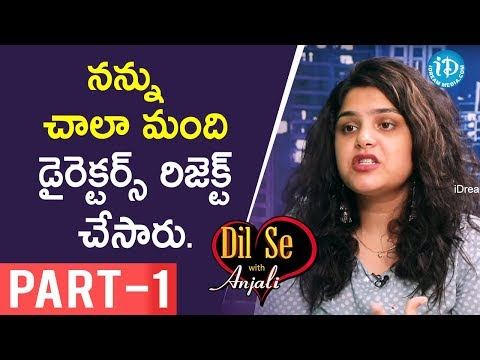 Singer Sruthi Ranjani Exclusive Interview Part #1 || Dil Se With Anjali