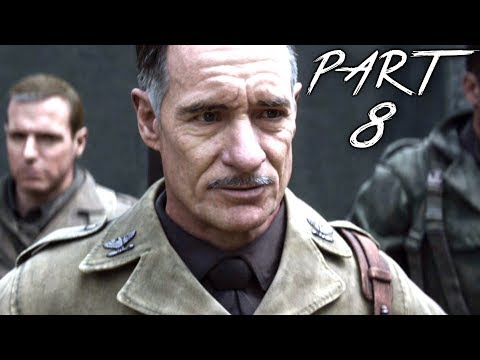 CALL OF DUTY WW2 Walkthrough Gameplay Part 8 - Artillery - Campaign Mission 6 (COD World War 2)