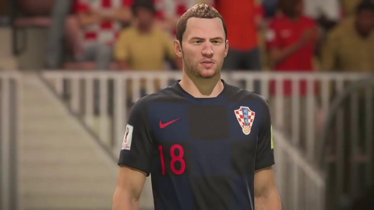 644dcb003 World Cup 2018 England vs Croatia - Semi Finals 2018 Full Match Sim (FIFA  18)