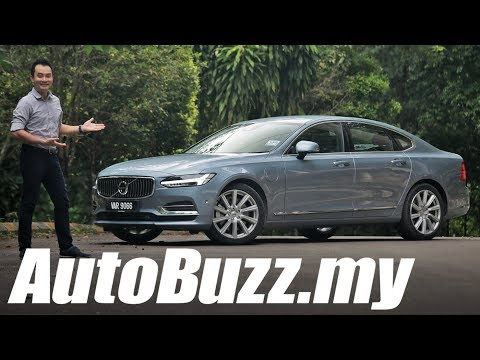 Volvo S90 T8 Inscription Plus PHEV review - AutoBuzz.my