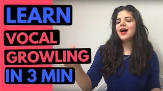 Tutorial: Vocal Growling