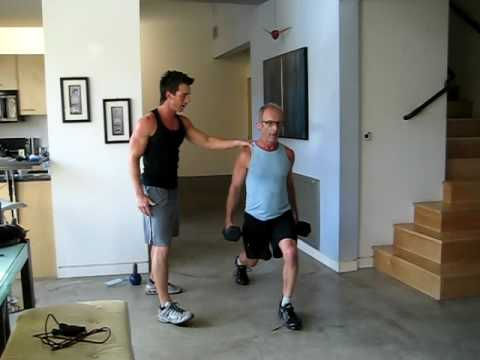 Tim Trost's session with actor and client, Bob Bancroft  Kaos part II,working out at 60
