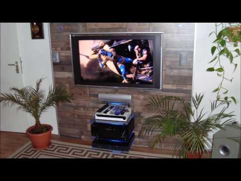 TV Wand selber bauen, ganz einfach
