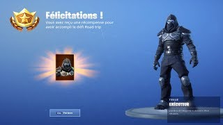 "I DEBLOQUE THE NEW SKIN ROAD TRIP ""EXECUTEUR"" on FORTNITE BATTLE ROYALE!"