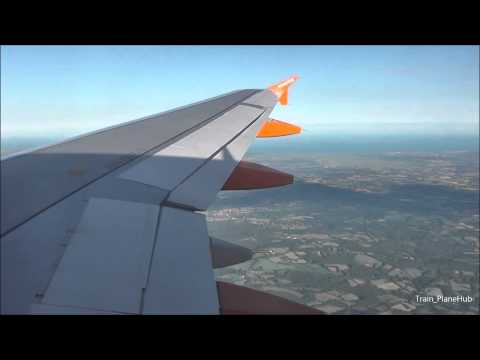 EasyJet Airbus A319-111 | Brussels To London Gatwick *Full Flight*