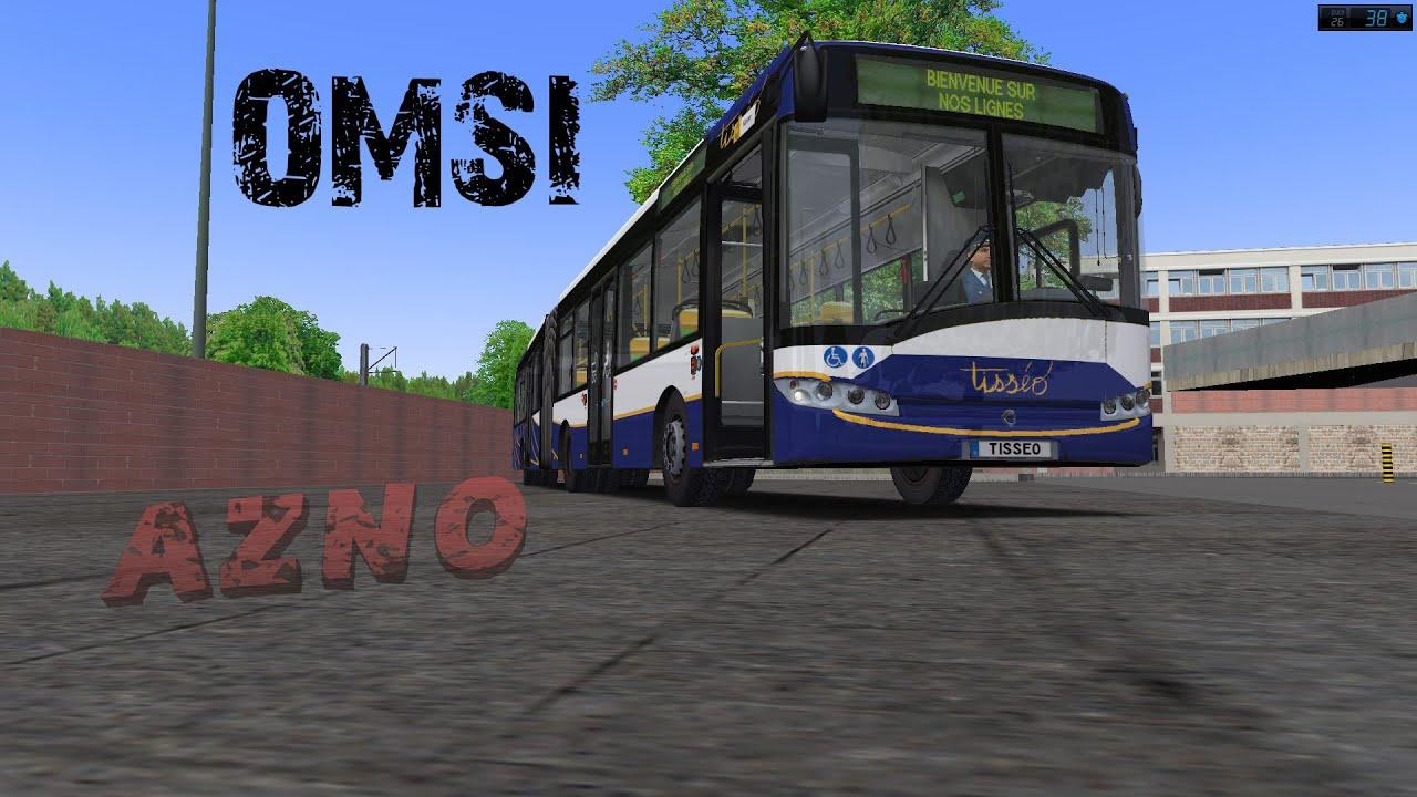 omsi 2 ligne 662 sittingen zob avec le bus tiss o fr hd youtube. Black Bedroom Furniture Sets. Home Design Ideas