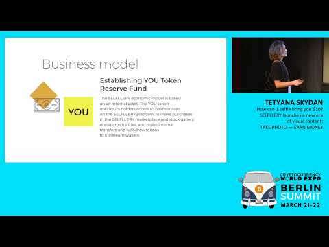 Cryptocurrency World Expo.Tetyana Skydan – Editor in Chief at Selfllery.com