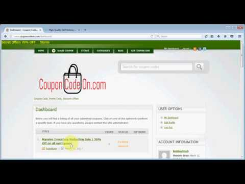 How To Submit A Coupon Code On CouponCodeOn.com