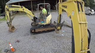 Mini Excavator Gets New Tracks!