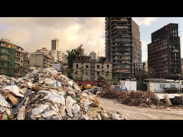 バイクや工事の音に「また爆発」 おびえるレバノンの街