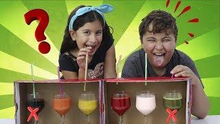 DESAFIO NÃO ESCOLHA O CANUDINHO ERRADO - Don't Choose pick the wrong straw