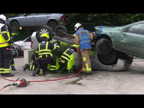UKRO West Midlands Extrication in  HD of  Essex County Fire and Rescue Service