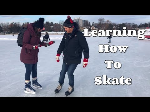 LEARNING HOW TO SKATE | Rideau Canal