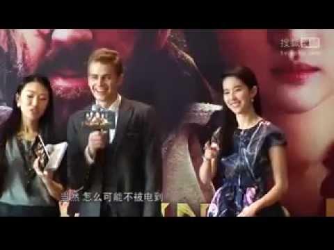 Hayden Admits Electricity with Liu Yifei