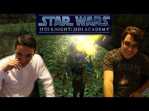 Swedegentina Gaming: Star Wars Jedi Knight Jedi Academy Part 2-Jaden vs The Doors  