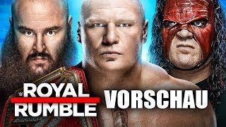 WWE Royal Rumble 2018 VORSCHAU / PREVIEW