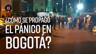 Así se propagó el miedo en Bogotá el 22 de noviembre- El Espectador