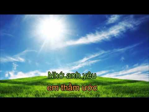 Video Karaoke - Bóng Anh Đâu Rồi  - Chuẩn HD - Kim tiểu phương