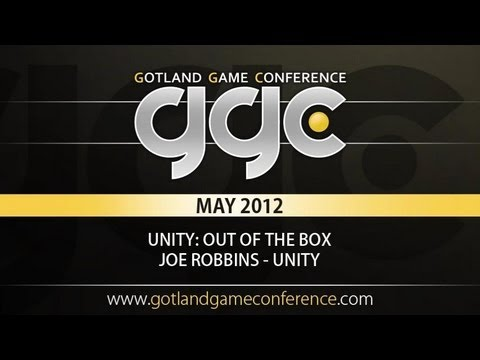 GGC 2012 - Unity; Out Of The Box