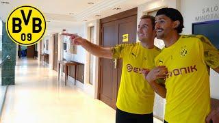 Hotel Tour With Mario Götze & Mo Dahoud   BVB In Marbella