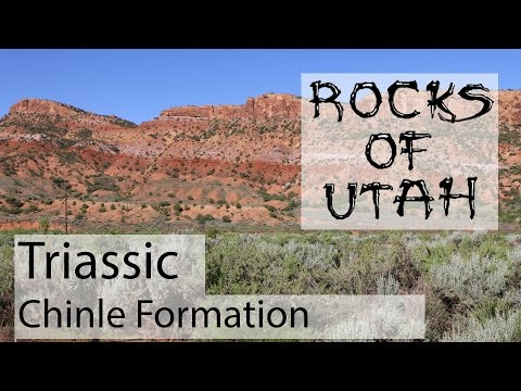 Triassic Chinle Formation - The Rocks of Utah