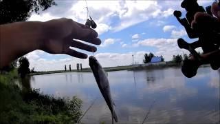 Рибалка в селі Новостав