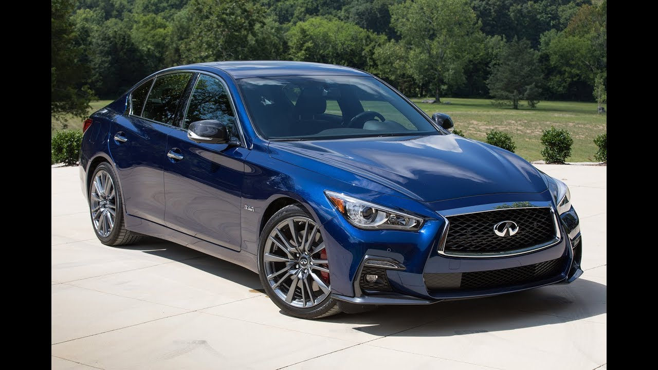Infiniti Q50 Red Sport 400 2018 0 60 And 100 Mph