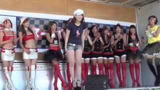 2012年8月25,26日に岡山国際サーキットで行われたスーパー耐久第4戦のギャルオンステージです。 8/26(日曜)の3/3.