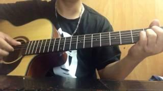 Vầng Trăng Trong Con guitar cover