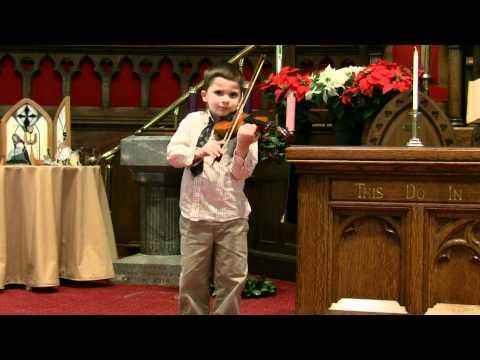 Christmas Recital 2010 Roman