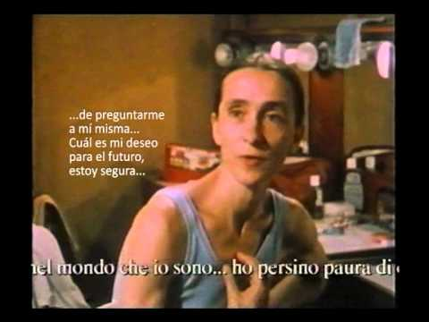 Pina Bausch talking about her future.