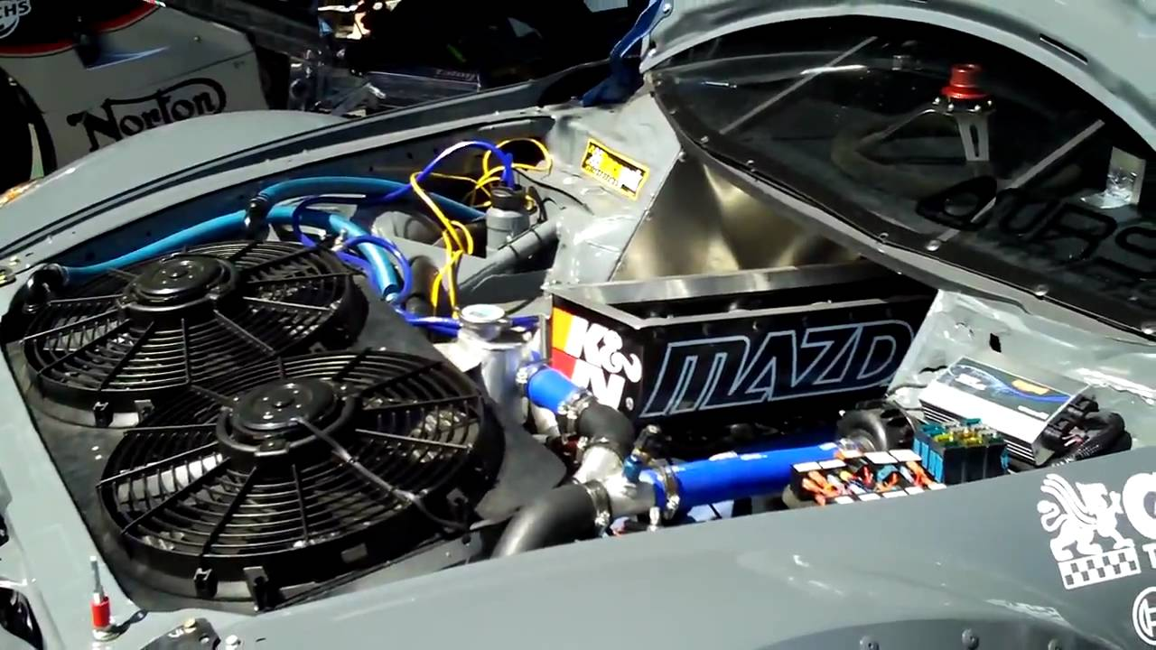 4 Rotor Mazda Rx 8 Time Attack Car Revving Engine At Seven Stock 2009 Youtube