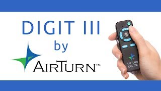 Digit III by AirTurn : Freedom to Perform
