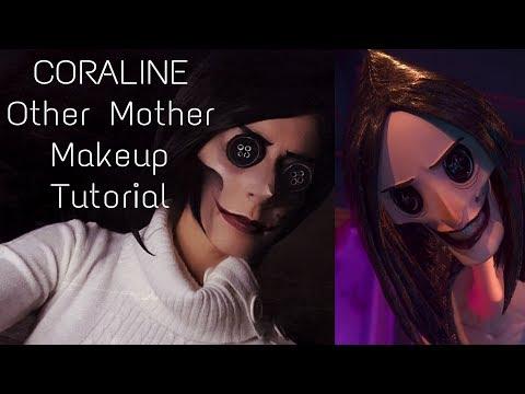 CORALINE Other Mother - Cosplay Makeup Tutorial