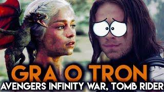 GRA O TRON! Avengers Infinity War! Film o Alladynie?! | DafuqNews