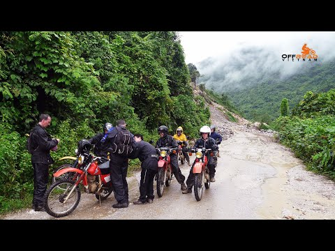 Mai Chau Motorbike Tours In Hoa Binh Province 2013   https://OffroadVietnam.com