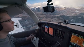 Landing at 9,070 ft - Telluride, Crazy Weather in the Mountains