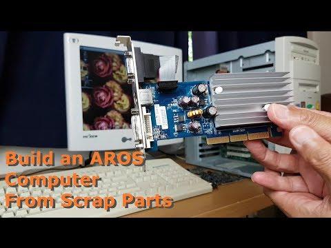 Build an Aros based Amiga computer from scrap parts Part 1