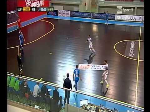 Calcio A 5 - Serie A 2014/15 - 6a Giornata - Luparense Vs Real Rieti