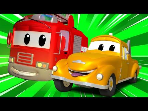 Детские мультфильмы с грузовиками - День Рождения Мэта    Авто Патруль   Car City World App