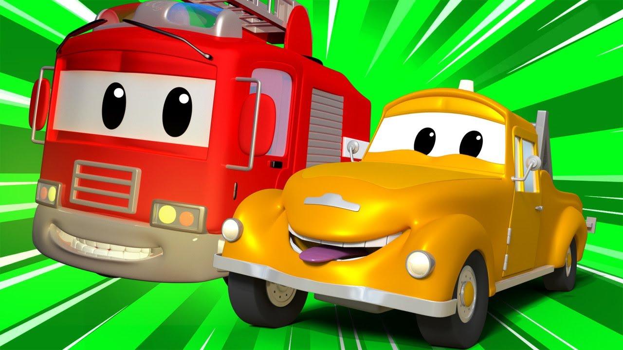 Детские мультфильмы с грузовиками - День Рождения Мэта  | Авто Патруль | Car City World App