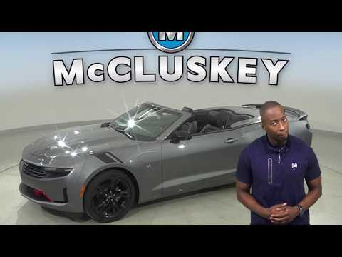 200730 - New, 2020, Chevrolet Camaro, Convertible, Test Drive, Review, For Sale -