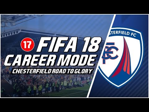 FIFA 18 Chesterfield Road To Glory: Replay Round 2 Emirates FA Cup Lawan Portsmouth #17