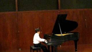 JT HMTA Final Recital - Scarlatti Sonata & Danza de la Donosa