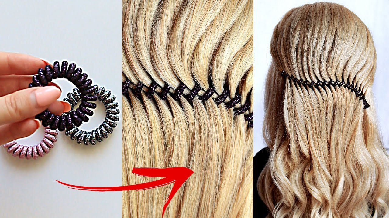 😱 New hairstyle for wedding and party using SPIRAL HAIRBAND || trending hairstyle || party UPDO