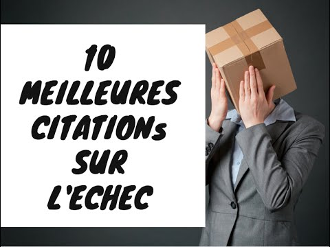 Echec Proverbes Et Citations 10 Meilleur Citations