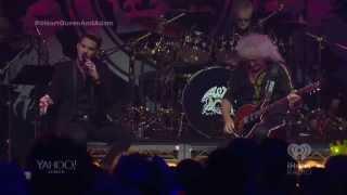 """2014-06-16 iHeartRadio Live """"Love Kills"""" Queen + Adam Lambert (live stream)"""