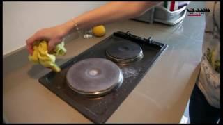 بالفيديو: الملح والخل في تنظيف فرن الغاز