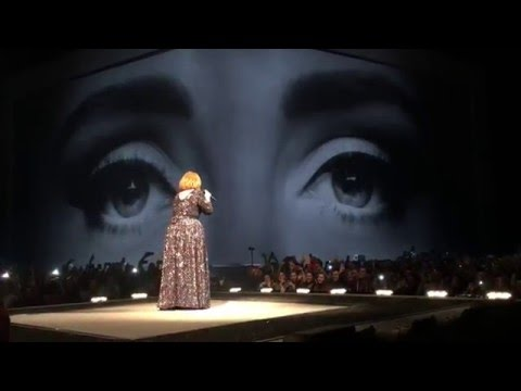 Adele Live - Hello - Skyfall - Set Fire to the Rain - Dublin March 5, 2016 Ireland 3Arena