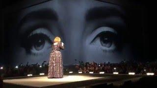 Adele Live - Hello - Skyfall - Set Fire to the Rain - Dublin March 5, 2016 Ireland 3Arena